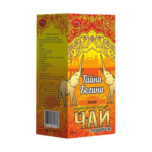 Тайна Богини Пекое черный инд.листовой
